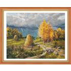 Набор для вышивания Овен №1273 «Осенняя гроза» 30*40 см