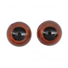 Глаза клеевые 12 мм 26638 (уп. 4 пары) коричневый 502435