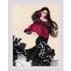 Набор для вышивания Риолис №1914 «Танец с веером» 30*40 см