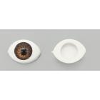 Глаза пластиковые AR1621 11 мм (уп. 5 пар) серый 7729309
