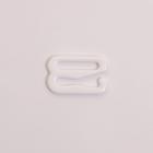 Крючок для бюст. 1209 металл. шир.1,2 см (уп. 100 шт.) белый