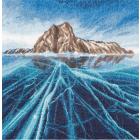 Набор для вышивания Panna ПС-7231 «Озеро Байкал» 25*25 см