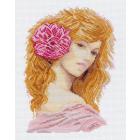 Рисунок на канве МП (24*35 см) 0873 «Рыжая красотка»