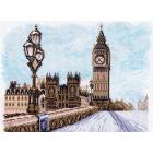 Рисунок на канве МП (28*37 см) 1531 «Лондон»