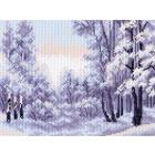 Рисунок на канве МП (28*34 см) 1402 «Зимняя тишина»