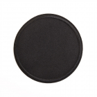 Термоаппликация LА431 Круг 8,5 см черный