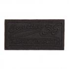Термоаппликация LА404 Classic collection 6,5*3,5 см черный