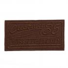 Термоаппликация LА404 Classic collection 6,5*3,5 см коричневый