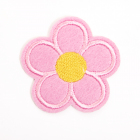 Термоаппликация LА385 Цветок 5*5 см розовый