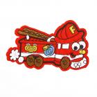 Термоаппликация LА445 Пожарная машина 9*5,5 см