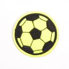 Термоаппликация LА475 Мяч 5 см желтый