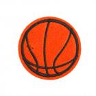 Термоаппликация LА467 Мяч 5 см красный