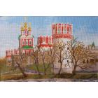 Рисунок на канве МП (33*45 см) 0915 «Новодевичий монастырь»