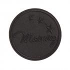 Термоаппликация LА415 Morning 6,5 см черный/черный