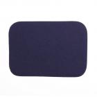 Термоаппликация LА436 Заплатка 10,5*7,5 см синий