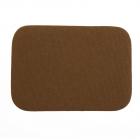 Термоаппликация LА436 Заплатка 10,5*7,5 см коричневый