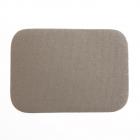 Термоаппликация LА436 Заплатка 10,5*7,5 см серый