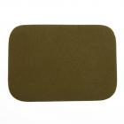 Термоаппликация LА436 Заплатка 10,5*7,5 см зеленый