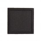 Термоаппликация LА430 Квадрат 4*4 см черный