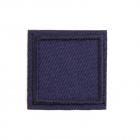 Термоаппликация LА430  квадрат 3*3 см синий
