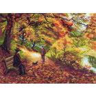 Рисунок на канве МП (37*49 см) 1411«Встреча»