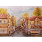 Рисунок на канве МП (37*49 см) 1760 «Московские улочки. Яузский бульвар»