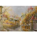 Рисунок на канве МП (37*49 см) 1759 «Московские улочки. Замоскворечье»
