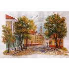 Рисунок на канве МП (37*49 см) 1674 «Уездный город»