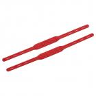 Штрипки 26,5 см НР 2шт/уп красные 613766
