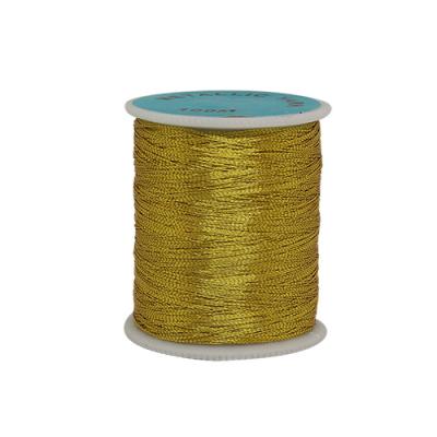 Люрекс цветной 0212-3303 (катушки) уп. 12*100 м золото 135345 в интернет-магазине Швейпрофи.рф