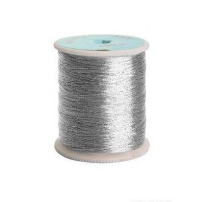 Люрекс цветной 0212-3303 (катушки) уп. 12*100 м серебро 135345 в интернет-магазине Швейпрофи.рф