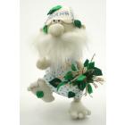 Набор для шитья Кукла Перловка из льна и хлопка ПЛДК-1460 «Банник» 17.5 см