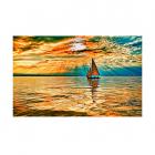 Картина по номерам Molly КН0654  «Заход солнца» 40*50 см