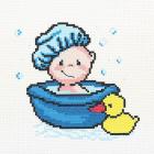 Набор для вышивания HP ПК-174 «Весеслое купание» 22*22см 903861