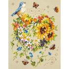 Набор для вышивания Чудесная Игла  №100-141 «Вдохновение сердца» 26*34 см
