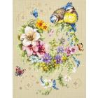 Набор для вышивания Чудесная Игла  №100-142 «Мелодия сердца» 26*34 см