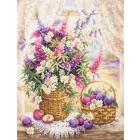 Набор для вышивания Чудесная Игла  №100-182 «Летний аромат» 32*40 см