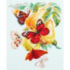Набор для вышивания Чудесная Игла  №130-051 «Бабочки на груше» 21*27 см