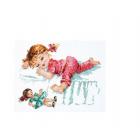 Набор для вышивания Чудесная Игла №35-24 «Умаялась...!» 22*17 см