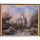 Алмазная мозаика DIY К-1666 «Замок» 28*38 см