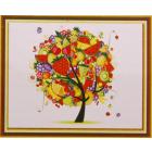 Алмазная мозаика DIY К-1104 «Фруктовое дерево» 38*28 см