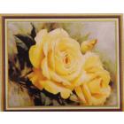 Алмазная мозаика DIY К-1553 «Желтые розы» 28*38 см