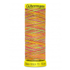 Нитки п/э Гутерман GUTERMAN DECO STITCH №70  70 м мультиколор для декоративных швов 702161 (7730428)