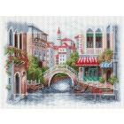 Рисунок на канве МП (37*49 см) 1696 «Венецианский мостик»