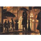Рисунок на канве МП (37*49 см) 1685 «Ночное кафе»