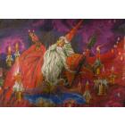 Рисунок на канве Dimensions MD649 «Волшебник» 33*45 см