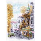 Рисунок на канве МП (37*49 см) 1556 «Яузский бульвар»