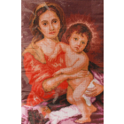 Рисунок на канве МП (33*45 см) 0390 Мурильо «Мадонна с младенцем, 1660г»