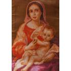 Рисунок на канве МП (33*45 см) 0391 Мурильо «Мадонна с младенцем, 1670г»