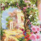 Рисунок на канве МП (41*41 см) 1763 «Греция в цвету»